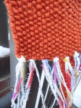 Orange with Fringe