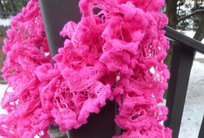Pink frou-frou